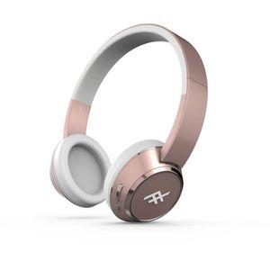 casque audio rose gold achat vente casque audio rose. Black Bedroom Furniture Sets. Home Design Ideas