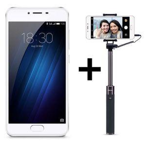 SMARTPHONE Meizu U10 Silver 16 Go + Perche Selfie