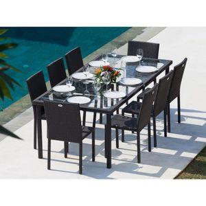 tables et chaises de jardin achat vente pas cher soldes d s le 10 janvier cdiscount. Black Bedroom Furniture Sets. Home Design Ideas