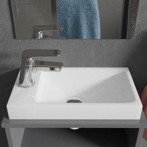 ROBINETTERIE DE CUISINE CREAZUR Lave-main résine 22x40cm