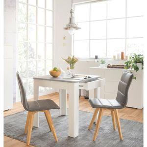 TABLE À MANGER SEULE OSLO Table à manger carrée de 4 à 6 personnes styl