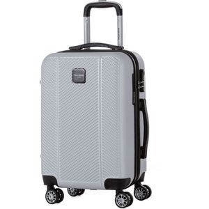VALISE - BAGAGE MURANO Valise cabine 55cm avec 8 roues Argent
