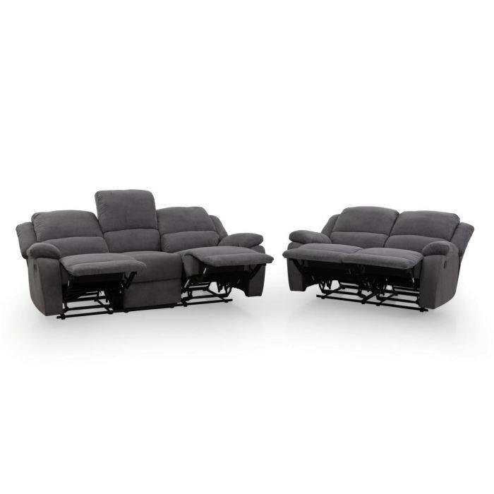 relax ensemble de 2 canapes de relaxation droits 3 Résultat Supérieur 48 Luxe Canape Relaxation Microfibre Photographie 2017 Xzw1