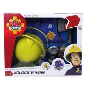 deguisement sam le pompier achat vente jeux et jouets pas chers. Black Bedroom Furniture Sets. Home Design Ideas