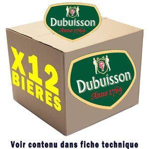 BIÈRE Box de 12 bières Dubuisson
