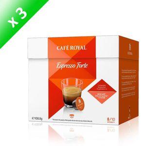 CAFÉ - CHICORÉE Café Royal Dolce Gusto Espresso Forte Compatibles