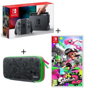 SORTIE CONSOLE NINTENDO SWITCH Console Nintendo Switch avec Joy-Con gris + Jeu Sp
