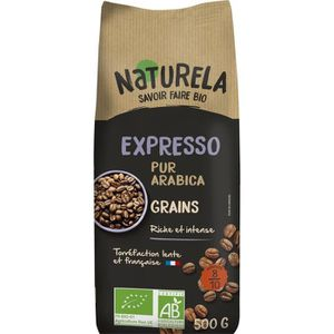 CAFÉ - CHICORÉE NATURELA Café en grain - Spécial Expresso - BIO -