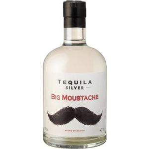 TEQUILA Big Moustache Tequila Silver 35% 70 cl