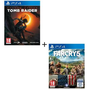 JEU PS4 Pack 2 jeux PS4 : Shadow of the Tomb Raider + Far