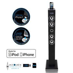 STATION D'ACCUEIL SOUNDVISION SV-T04 Noir Tour Apple iPhone / iPod