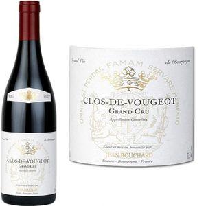 VIN ROUGE Jean Bouchard Clos de Vougeot Grand Cru 2007 - Vin