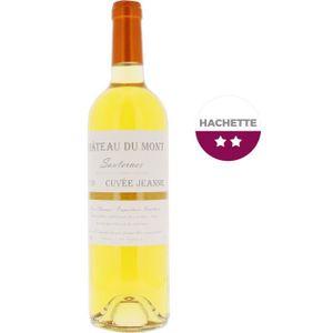 VIN BLANC Château Du Mont Cuvée Jeanne 2010 Sauternes - Vin