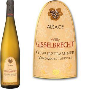 VIN BLANC Gisselbrecht Gewürztraminer  - Vin blanc d'Alsace
