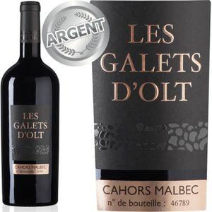 VIN ROUGE Les Galets d'Olt 2015 Cahors - Vin rouge du Sud-Ou