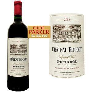VIN ROUGE Château Rouget 2013 Pomerol - Vin rouge de Bordeau