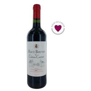 VIN ROUGE Haut Boutet Cantinot 2014 Blaye Côtes de Bordeaux