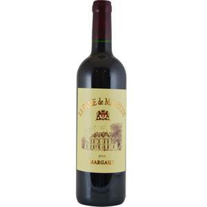 VIN ROUGE La Dame de Malescot 2015 Margaux - Vin rouge