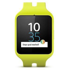 MONTRE CONNECTÉE Sony Smartwatch 3 Montre Connectée SWR50 Silicone