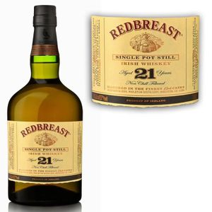 WHISKY BOURBON SCOTCH Redbreast 21 ans 70cl 46% Pot Still