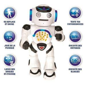 ROBOT - ANIMAL ANIMÉ LEXIBOOK Powerman - Robot éducatif interactif pour