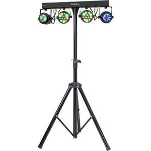 PACK LUMIÈRE IBIZA DJLIGHT60 Support de lumière avec 2 projecte