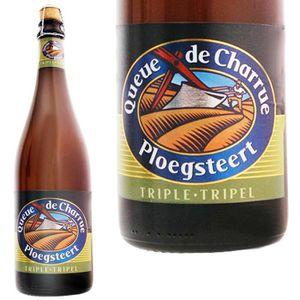 BIÈRE bière Queue de charrue triple 75cl 9°