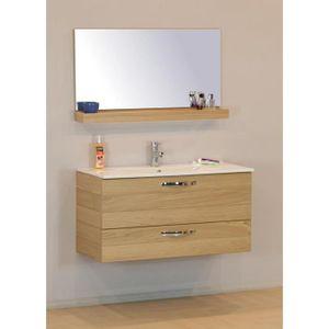 Ensemble meuble salle de bain Scandinave-nature - Achat / Vente ...