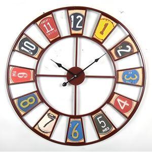 Horloge murale achat vente horloge murale pas cher soldes d s le 9 janvier cdiscount for Horloge murale multicolore