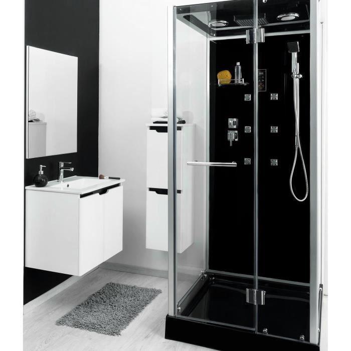 Cabine de douche hydromassante ytal 90x90cm achat - Cabine de douche cdiscount ...