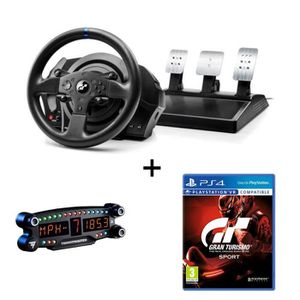 JOYSTICK - MANETTE THRUSTMASTER Pack Volant T300RS GT Edition - PS3 /