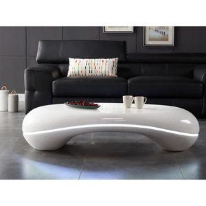 TABLE BASSE SMART Table basse avec LED style contemporain en f