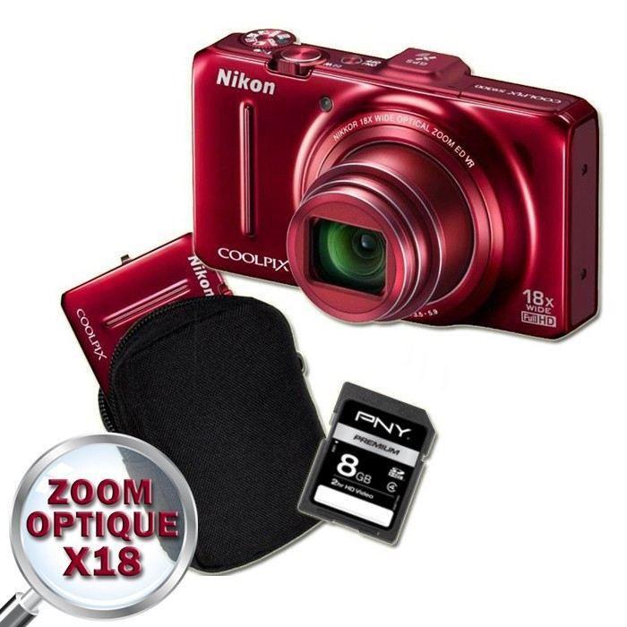 site web pour réduction meilleur fournisseur pas cher pour réduction NIKON S9300 Compact + Etui + Carte SD 8 Go - Achat / Vente ...