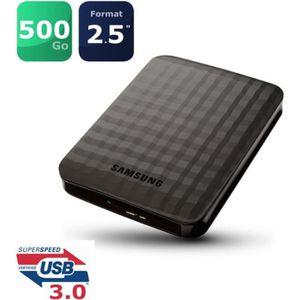 DISQUE DUR EXTERNE Samsung Disque dur externe M3 500Go USB3.0