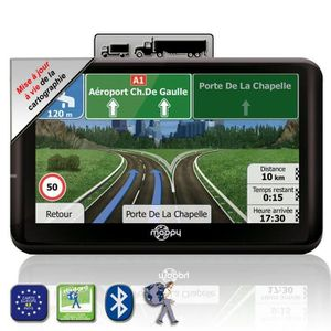 GPS AUTO MAPPY ULTI X555 LM Truck, GPS Poids-lourds 5