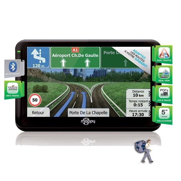 SMARTPHONE RECOND. GPS poids-lourds Mappy Ulti X550 Truck recondition