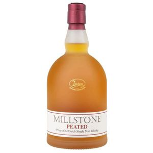 WHISKY BOURBON SCOTCH Millstone peated 70cl 40°