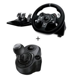 JOYSTICK - MANETTE Logitech volant de course G920 + Levier de vitesse
