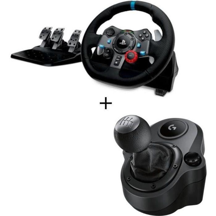 b0d4987fa77 Logitech Volant G29 + Levier de vitesse Driving Force Shifter - Prix ...