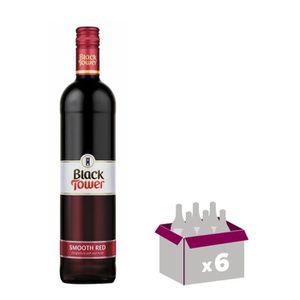 VIN ROUGE Black Tower Smooth Red - Vin rouge d'Allemagne