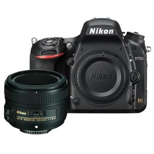 APPAREIL PHOTO RÉFLEX NIKON D750 NU Boitier Nu + NIKON AF-S NIKKOR 50mm