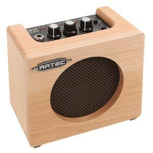AMPLIFICATEUR ARTEC mini ampli bois pour guitare