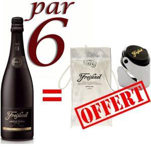 PÉTILLANT & MOUSSEUX Freixenet Brut x6 = Ice Bag + Bouchon Stoppeur
