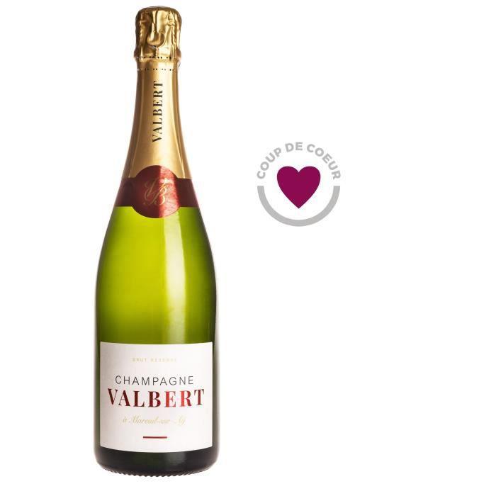 CHAMPAGNE Champagne Valbert Brut - Brut Réserve - 75 cl