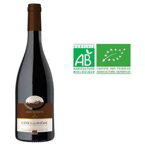 VIN ROUGE CONTREFORTS DU DELTA Vin Bio des Côtes du Rhône -