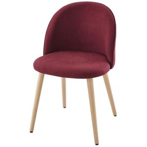 chaise salle a manger rouge achat vente pas cher. Black Bedroom Furniture Sets. Home Design Ideas