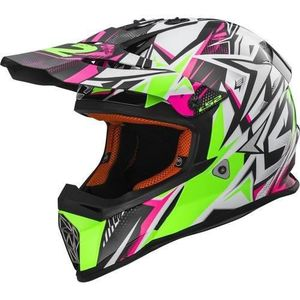 CASQUE MOTO SCOOTER LS2 Casque Cross Fast Strong