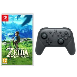 JEU NINTENDO SWITCH The Legend of Zelda: Breath of the Wild + Manette