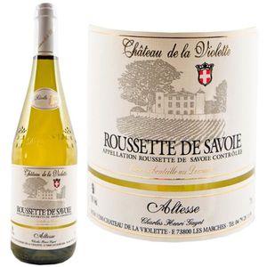 VIN BLANC Château de la Violette Roussette de Savoie 2016