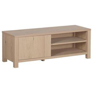 meuble tv nano meuble tv contemporain placage bois chne ver - Vente Meuble Tv Bois